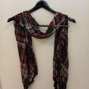 Vera Bradley scarf plaid